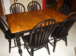 Restaining Kitchen Table Refinished Kitchen Table To Do Pinterest Miserv