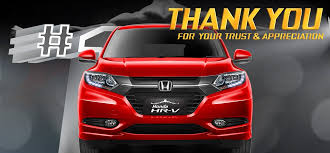 Gambar Mobil Honda HRV Berwarna Merah