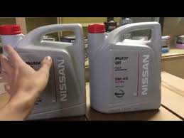 <b>Моторное масло Nissan</b> (как отличить подделку) - YouTube