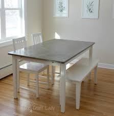 diy contemporary dining table