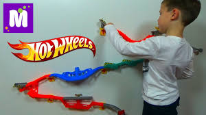Хотвилс настенная трасса трек Горилла <b>Разрушитель</b> Hot Wheels