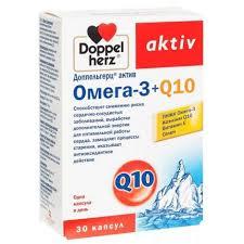 <b>Доппельгерц Актив Омега</b>-<b>3</b> + Q10 капс. 1625мг №30 107570 ...
