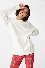 <b>Oversized Crew Neck</b> Sweater | <b>Women's</b> Fashion & Accessories ...