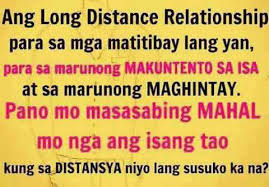 Tagalog Long Distance Relationships Quotes Image 2 | Pinoy Trend ...
