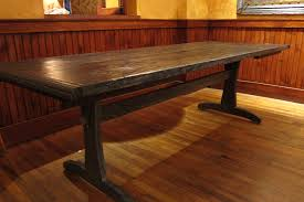 reclaimed wood dining room table tables