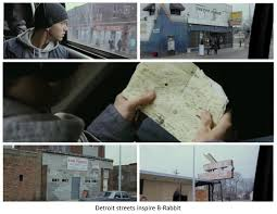 mile a study of hip hop culture d onofrio film while b rabbit spends most of his days in the black neighborhood he finds inspiration in the streets at his job in detroit stamping and the shelter