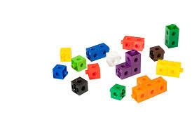 "<b>Набор развивающий Miniland</b> ""Кубики"", 2 см, 100 штук, в ..."