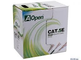 <b>Кабель Aopen ANC514</b>-<b>40_AOPEN_UTP_4X2X0</b>.<b>4MM_305M</b> ...