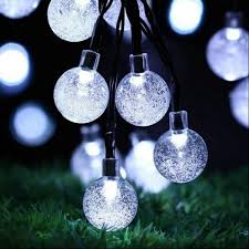 <b>30 LED Solar</b> String Ball Lights
