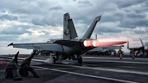 <b>Aircraft Carrier F/A-18</b> Super Hornets Takeoff - YouTube