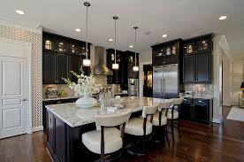 kitchen wall display cabinets kitchen traditional with island lighting black cabinets black kitchen island lighting
