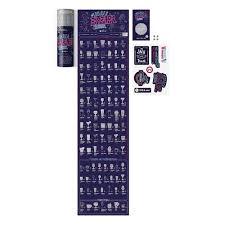 """<b>Скретч</b>-постер #100дел """"Bar edition"""" бренда 1DEA.me – купить по ..."""