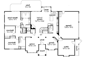 Contemporary House Plans   Ainsley     Associated Designs    Contemporary House Plan   Ainsley     st Floor Plan