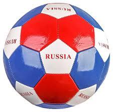 <b>Футбольный</b> мяч <b>Gratwest</b> Россия №5 blue/white/red купить, цены ...