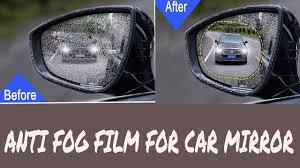 <b>Rearview</b> mirror Anti-fog <b>Waterproof</b> protective <b>film</b>| How to protect ...