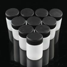 OPHIR 10PCS <b>Airbrush Plastic 22cc</b> 3/4oz Bottles Paint Cup with ...