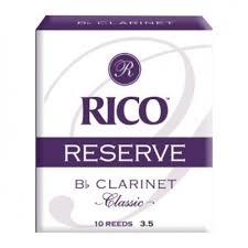 Трости для кларнета Rico Reserve Classic (<b>Old</b> Style) №3,5+ Bb (2 ...