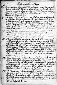 george washington journal of my