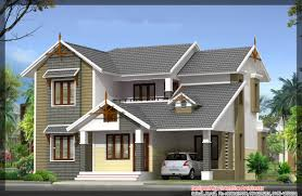 Kerala House Plans and Elevations   KeralaHousePlanner comHome Elevation Plan at sq ft