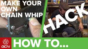 How To Make Your Own <b>Chain</b> Whip | GCN <b>Cycling</b> Hacks - YouTube