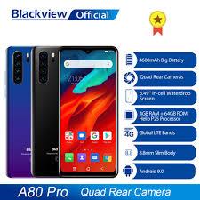 Global Version <b>Blackview A80 Pro</b> Quad Rear Camera Octa Core ...