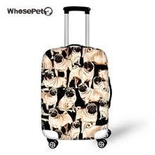WHOSEPET багажные чехлы с изображением бульдога, <b>чехол</b> ...