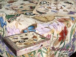 Комплект Луговые Цветы: <b>Скатерть</b> гобеленовая купонная ...