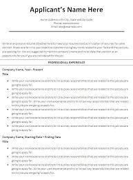 of chronological resume template  seangarrette cofree chronological resume template microsoft word