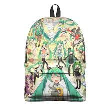 <b>Рюкзак 3D Мику</b> Хацунэ #2703238 – <b>рюкзаки</b> с принтами в ...