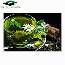 GOANG 5D <b>Diamond</b> Embroidery <b>Lemon</b> green tea flowers <b>DIY</b> ...