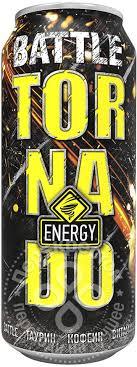 Купить <b>Напиток Tornado</b> Energy Battle <b>энергетический</b> 450мл с ...