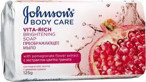 Джонсон Vita-Rich <b>мыло</b> 125г экстракт граната преображающее ...