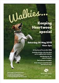 dogs the largest new native forest in england dog day poster
