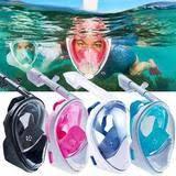 Подводная <b>маска</b> для плавания (снорклинга) Easy <b>Breath</b>