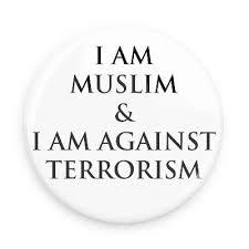 i am muslim  amp  i am against terrorism   funny buttons   custom    i am muslim  amp  i am against terrorism   funny buttons   custom buttons   promotional badges   islam pins   wacky buttons   islam buttons   pinterest   muslim
