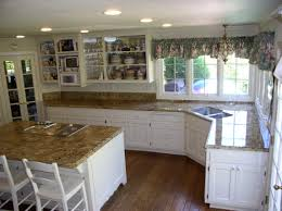 kitchen cabinets with granite countertops: image of white cabinets with granite countertops