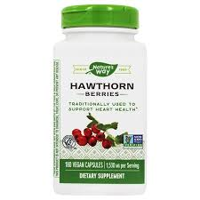 Nature's Way - <b>Hawthorn Berries 1530 mg</b>. - 180 Vegan Capsules ...