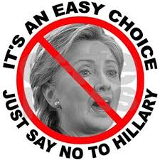 Image result for say no to hillary