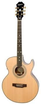 <b>Электроакустическая гитара Epiphone PR</b>-<b>5E</b> Natural — купить по ...