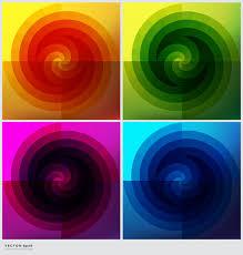 <b>Набор из 4 круглых</b> фонов. красочные геометрические фоны ...