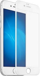 <b>Стекло защитное DF для</b> iPhone 7 plus 3D Full Screen белая рамка