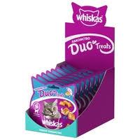 <b>Лакомство</b> для кошек Whiskas Duo Treats c лососем и сыром ...