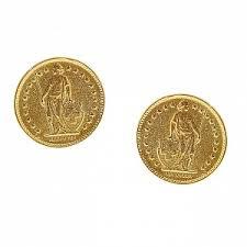 <b>Позолоченные</b> клипсы-диски, из коллекции Moroccan Coin ...