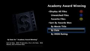Category    Screenshots      Sapphire Browser Sapphire Browser Movie virtual directories have been update to allow you to sort your identified movies by title  IMDB User Rating  or by Premier Date