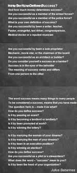 how do you define success poem by julius babarinsa poem hunter