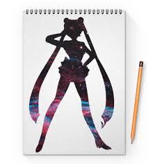 """Блокнот на пружине А4 """"Sailor Moon"""" #2743103 от GeekFox - <b>Printio</b>"""