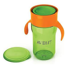 Чашка-<b>поильник Philips Avent 340мл</b> 18мес+, зеленый, SCF784 ...