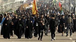 Procesión en Teherán por el Imam Husein (P)