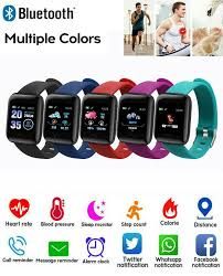 <b>116 Plus</b> BT Smart Watch <b>Wristband</b> Bracelet Pedometer Sport ...