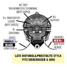 boat alternator wiring diagram boat wiring diagrams online late motorola style alternator wiring